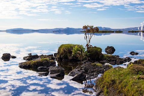 Lake Þingvellir is one of Iceland's most beautiful natural wonders.