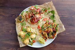 Snjallar, einfaldar og sjúklega girnilegar tostadas.
