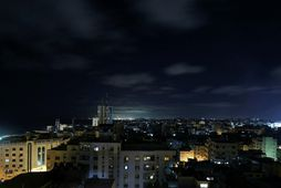 Borgin Gaza í Palestínu.
