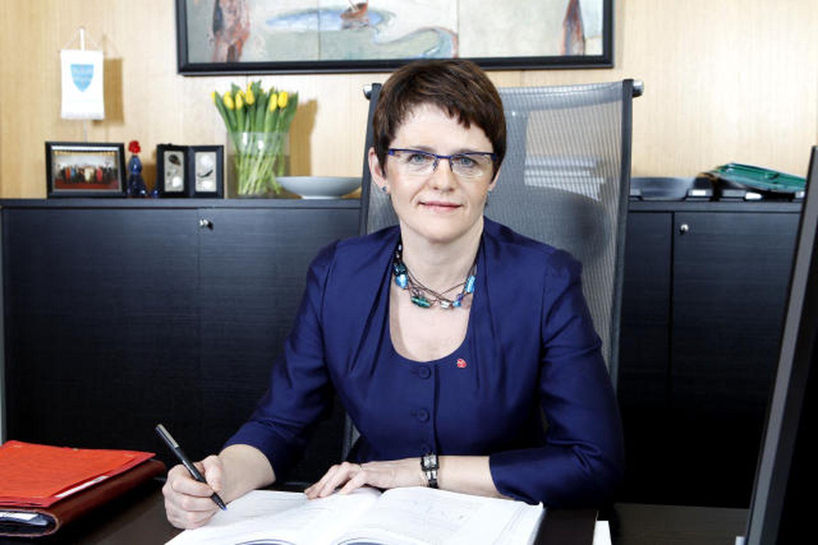 Lisbeth Berg-Hansen, sjávarútvegsráðherra Noregs.