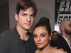 Ashton Kutcher og Mila Kunis eignuðust lítinn pilt í vikunni.