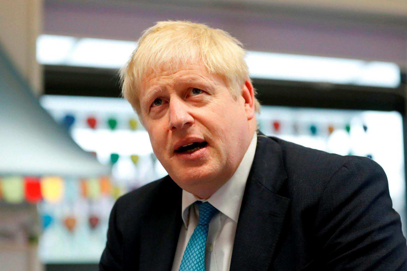 Boris Johnsson, forsætisráðherra Bretlands.