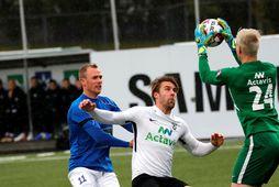 Guðmundur Kristjánsson í leik með FH gegn Stjörnunni.