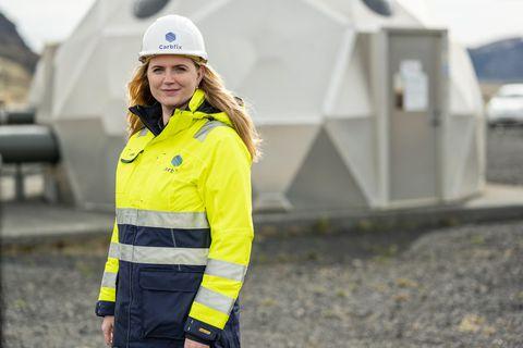 Edda Sif Pind Aradóttir, CEO of Carbfix.