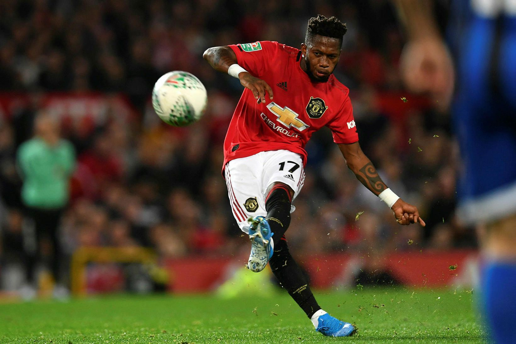 Fred hefur ekki sýnt mikið með Manchester United.