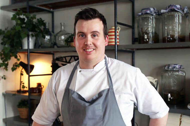 Gísli Matthías Auðunsson, chef at Skál and Slippurinn in the Westman Islands.