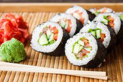 Eru litir sushi bitar góður kostur fyrir okkur?