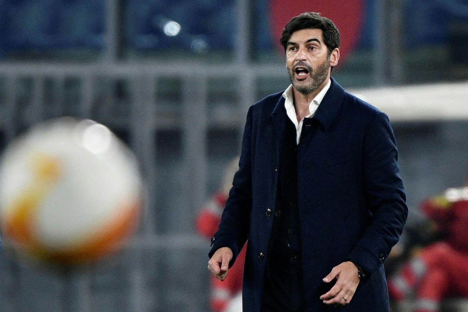 Paulo Fonseca er að taka við Tottenham.
