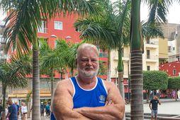 Pálmi Guðmundsson nýtur lífsins í Los Cristianos en dvölin úti á Tenerife hefur haft mjög …