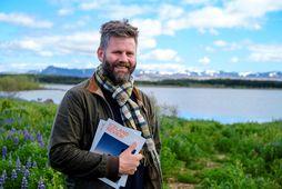 Golli er útgáfustjóri Iceland Review, sem komið er út í fyrsta sinn á íslensku.
