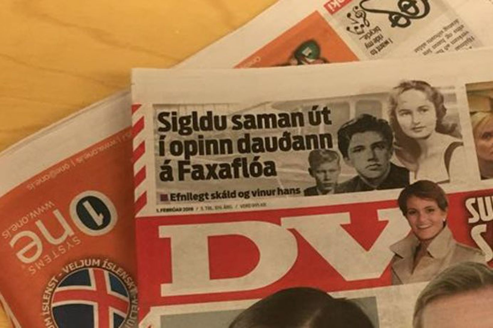 FF seldi DV til Torgs í fyrra.