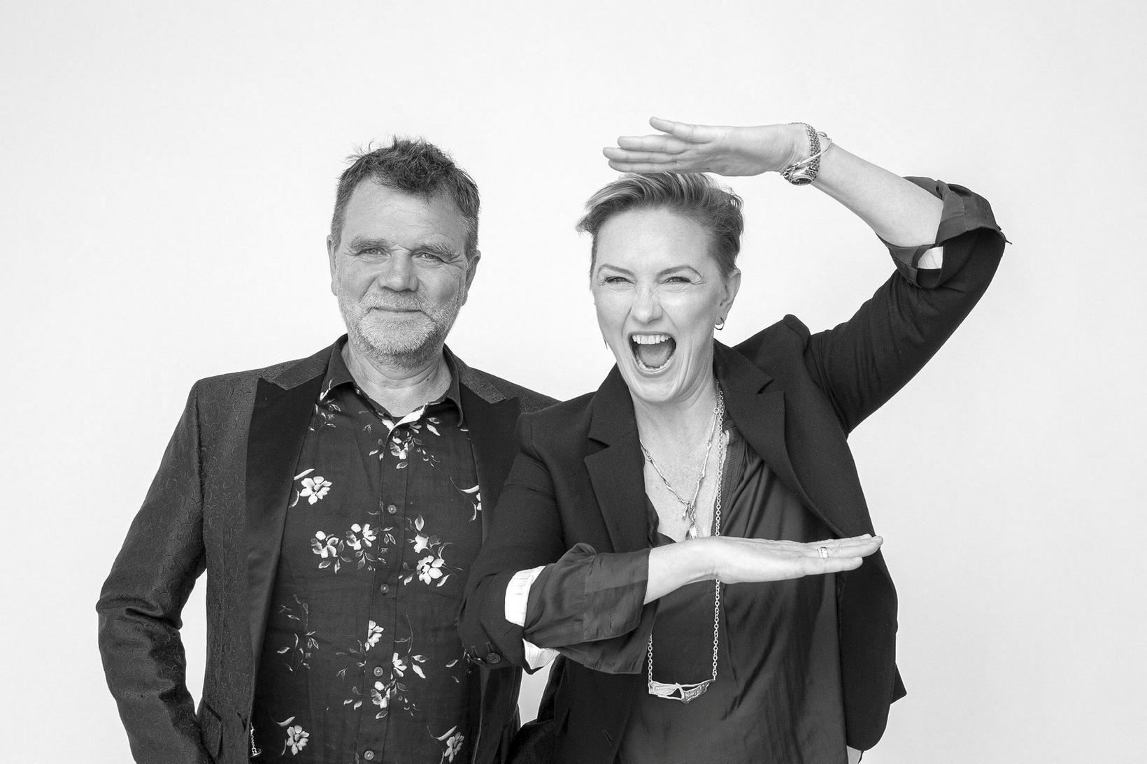 Tryggvi Þorsteinsson og Erla Dögg Ingjaldsdóttir reka hönnunarfyrirtækið Minarc í …