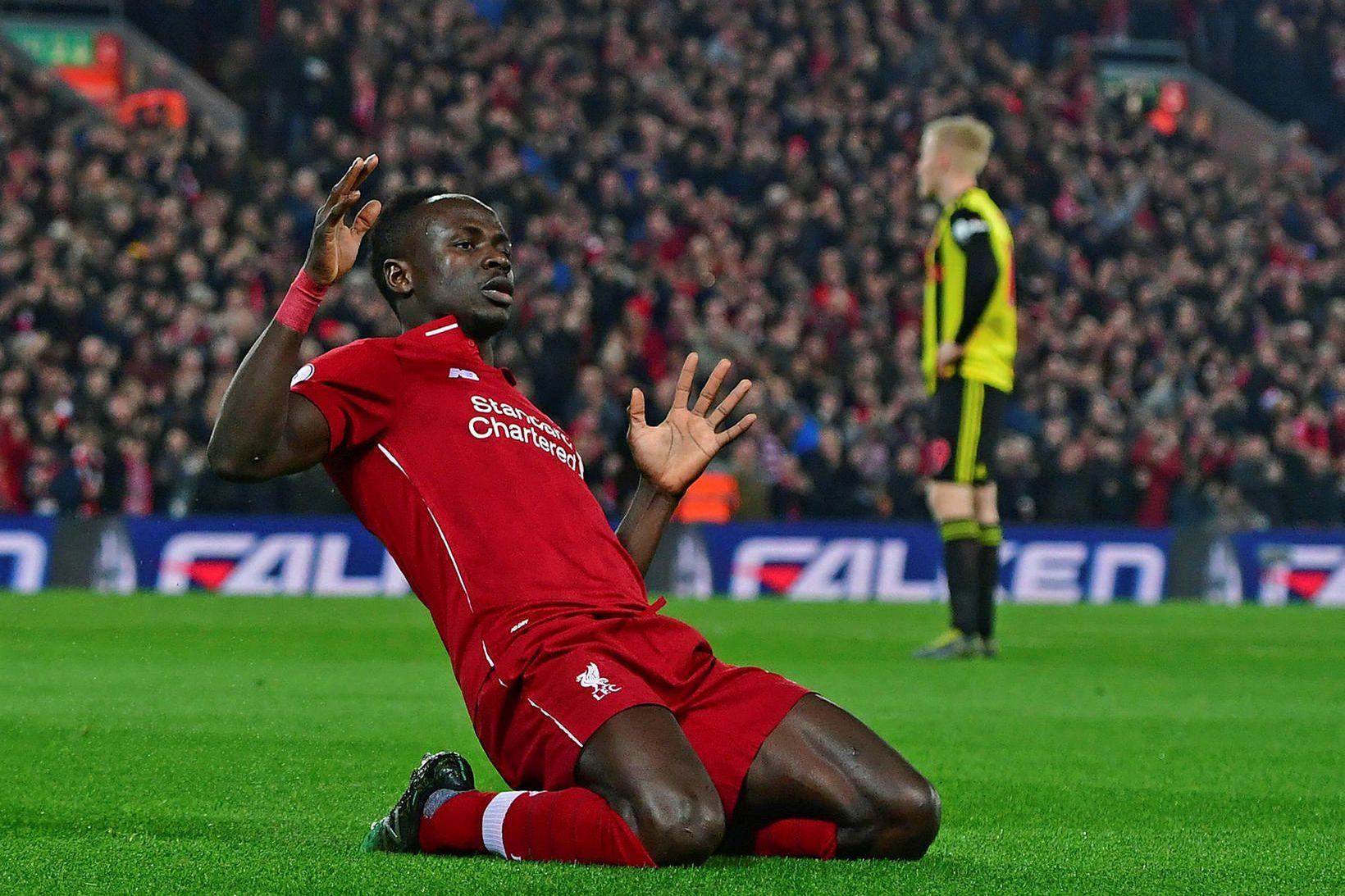 Liverpool er með 25 stiga forskot á toppi deildarinnar.