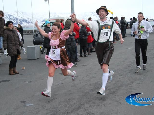 New Year's Eve 10 K Run In Iceland!