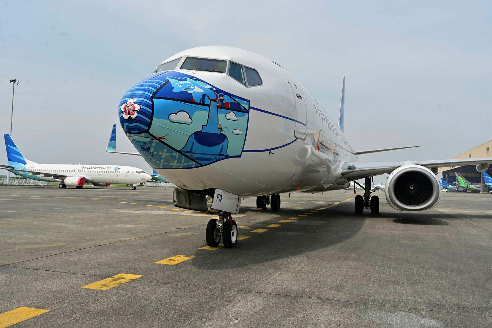 Boeing 737-800 þota við öllu búin í heimsfaraldri, öllu nema …