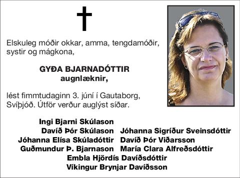 Gyða Bjarnadóttir