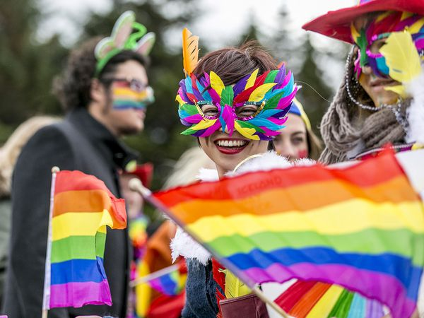 The parade is the high point of Reykjavik Pride for many.
