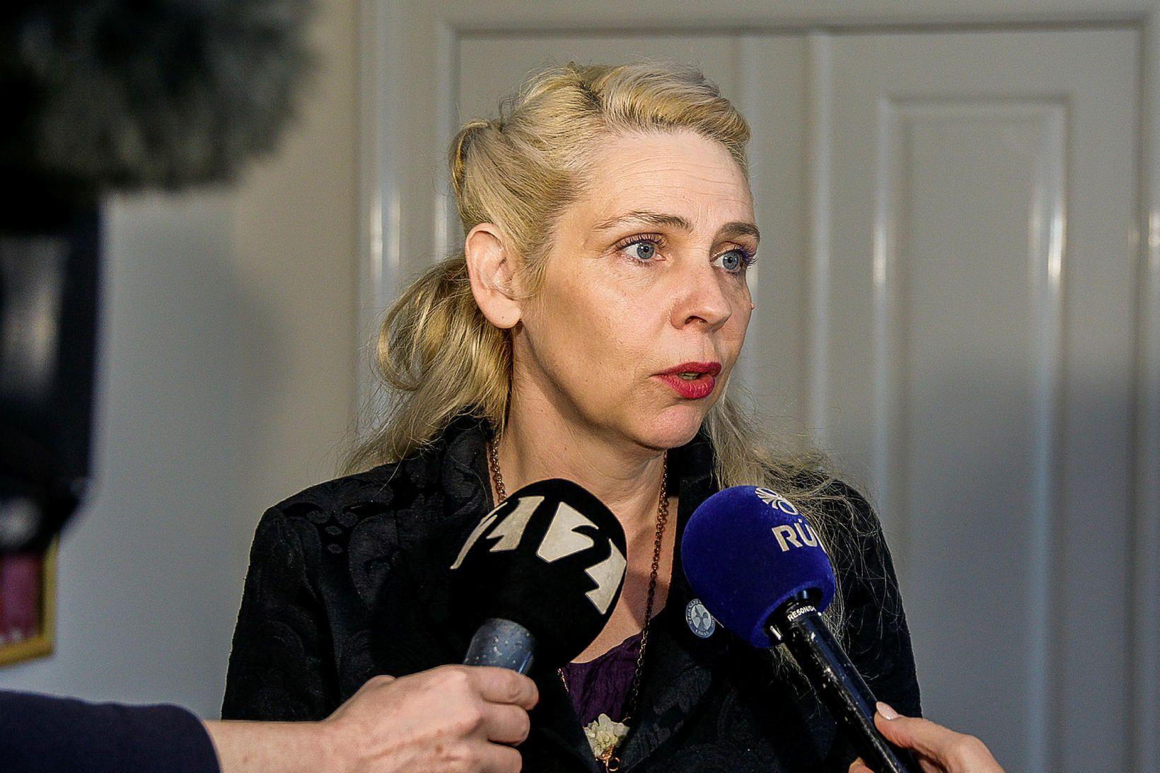 Birgitta Jónsdóttir, fyrrverandi þingmaður Pírata.