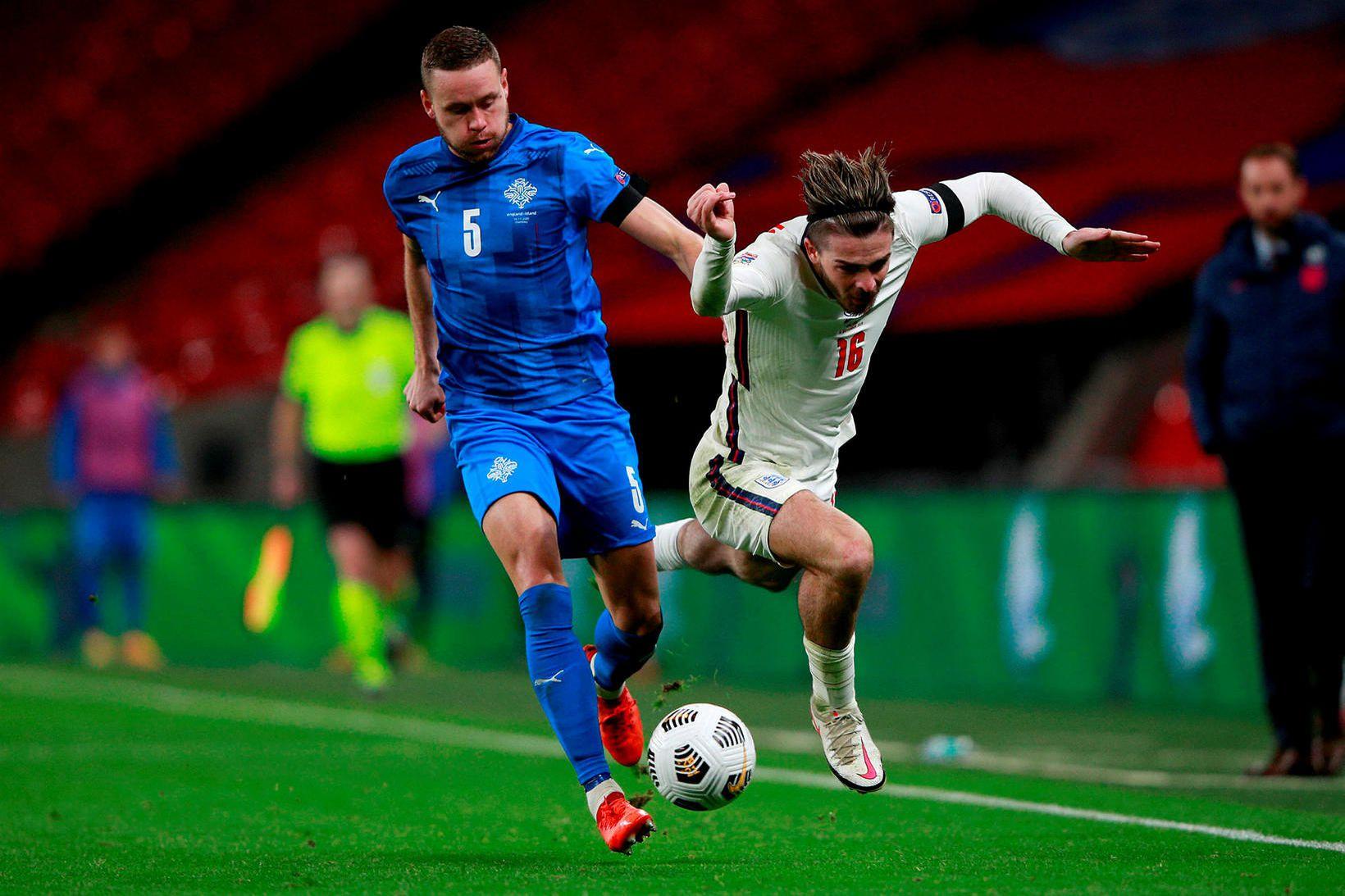 Sverrir Ingi Ingason kom PAOK yfir gegn toppliðinu.