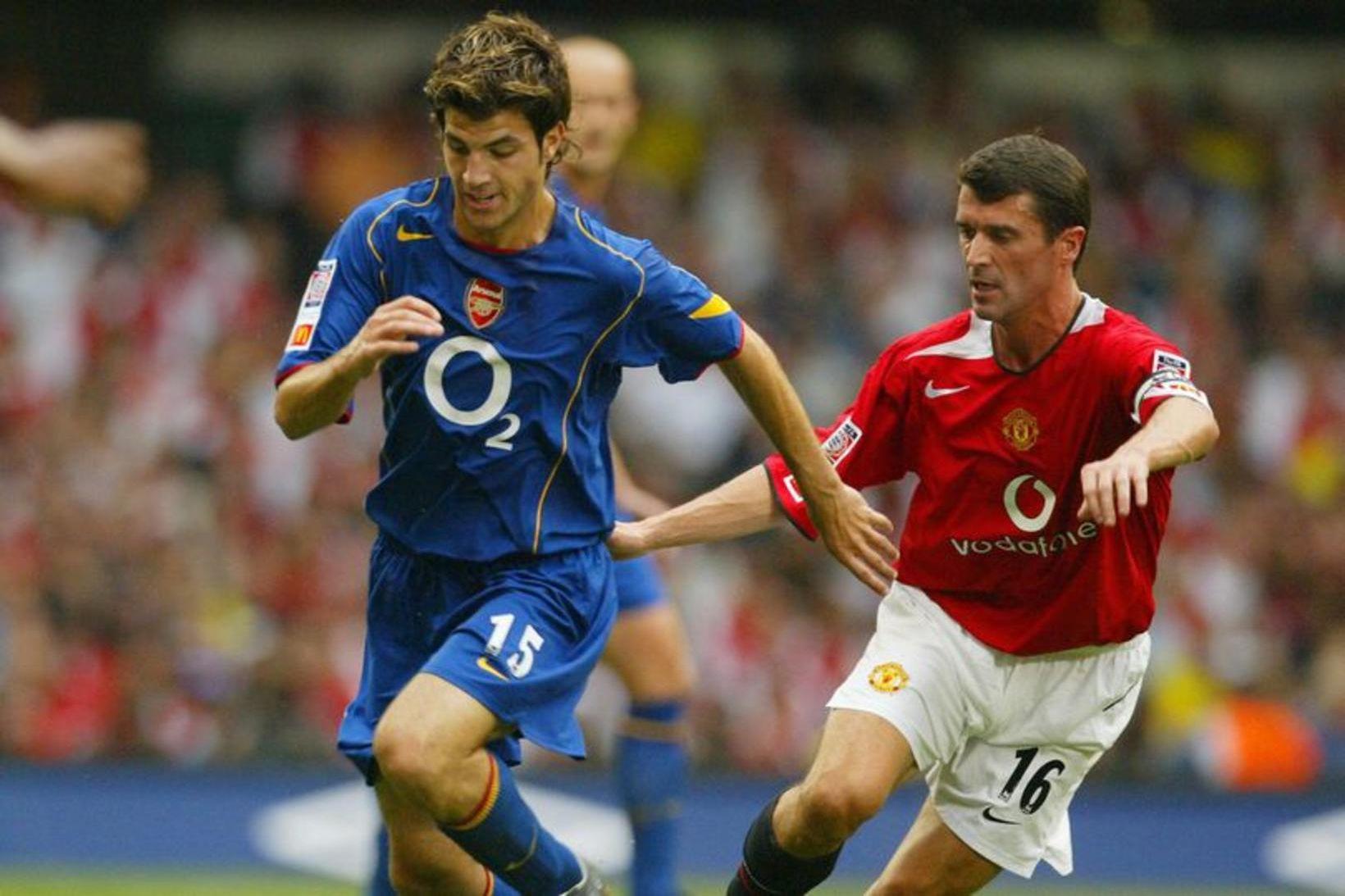 Cesc Fábregas í leik gegn Manchester United.