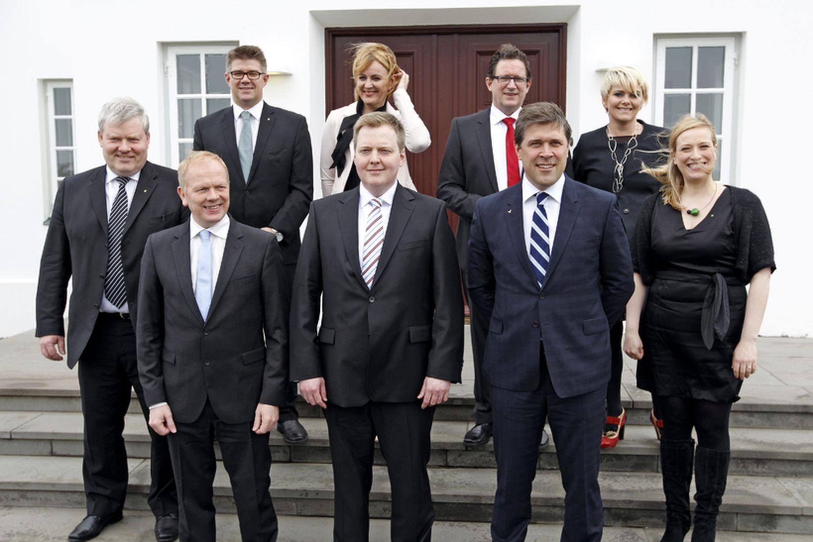 Ríkisstjórn Sigmundar Davíðs Gunnlaugssonar.
