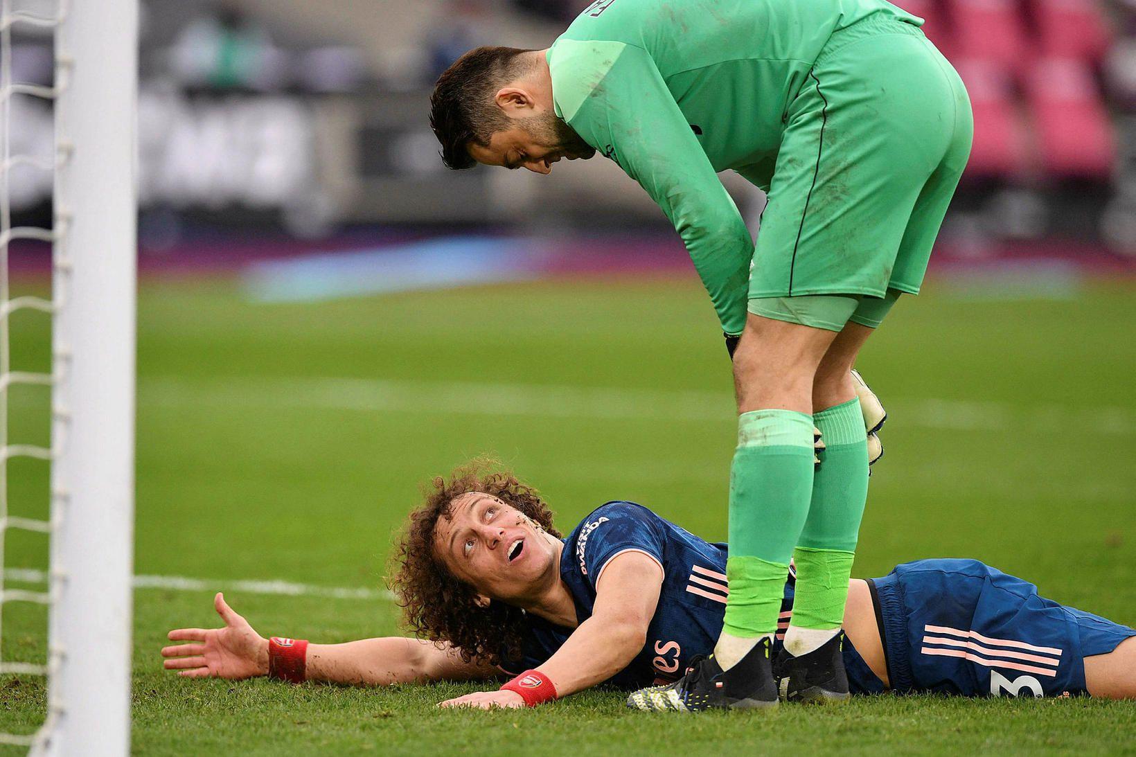David Luiz hefur leikið sinn síðasta leik með Arsenal.