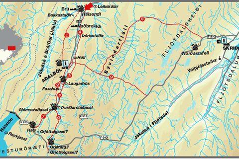 Sagatrails of East Iceland