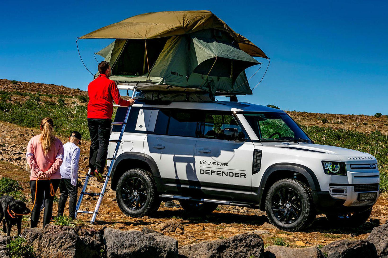 Svona brást fólk við nýja Land Rover Defender