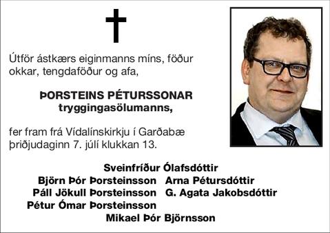 Þorsteins Péturssonar