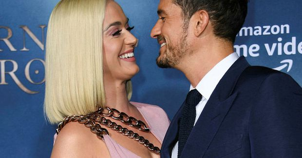 Orlando Bloom og Katy Perry.