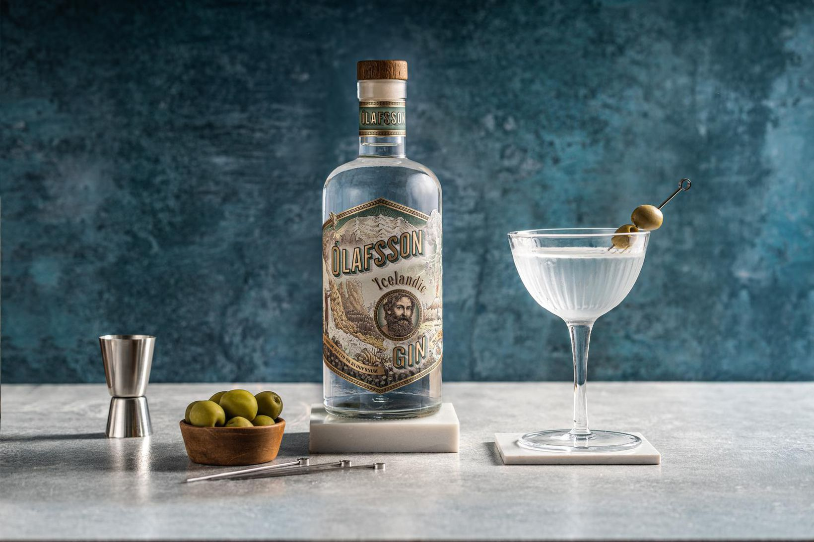 Ólafsson gin er næstbesta fáanlega ginið í martini-kokteila að mati …