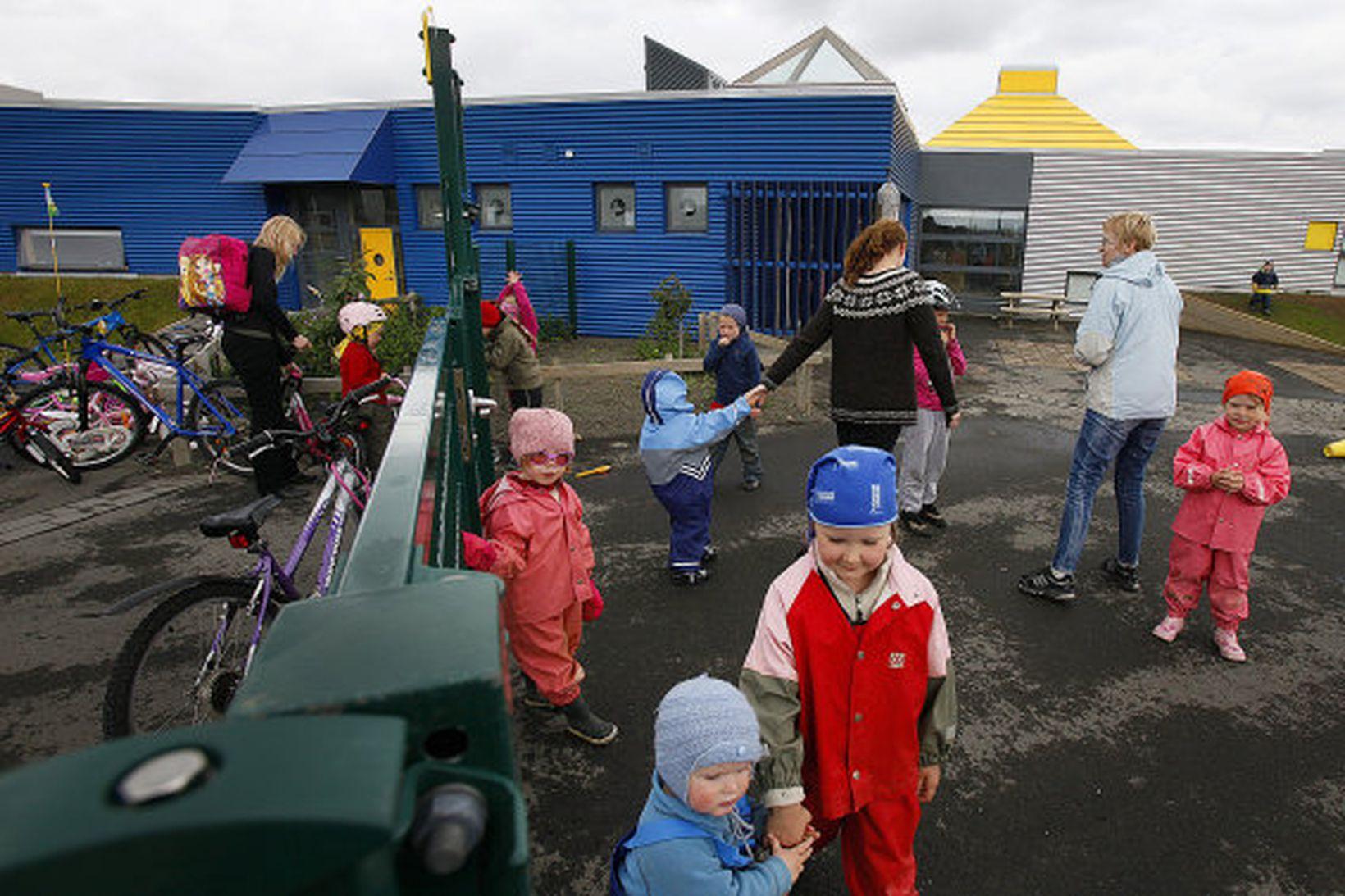 Leikskólinn Rauðhóll í Norðlingaholti.