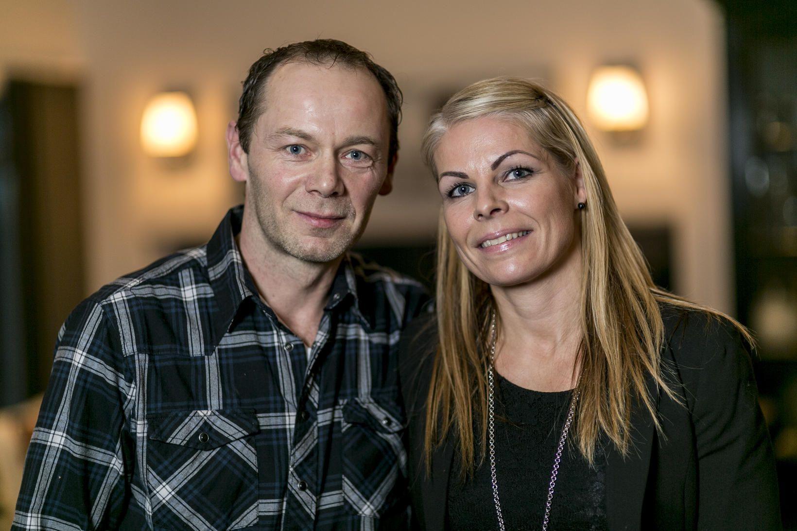 Sigurjón Dagbjartsson og Hildur Björk Guðmundsdóttir.