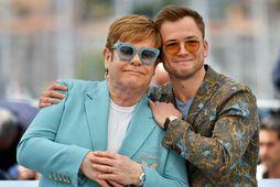 Það fór vel á með þeim Elton John og Taron Egerton á Cannes sem haldið …