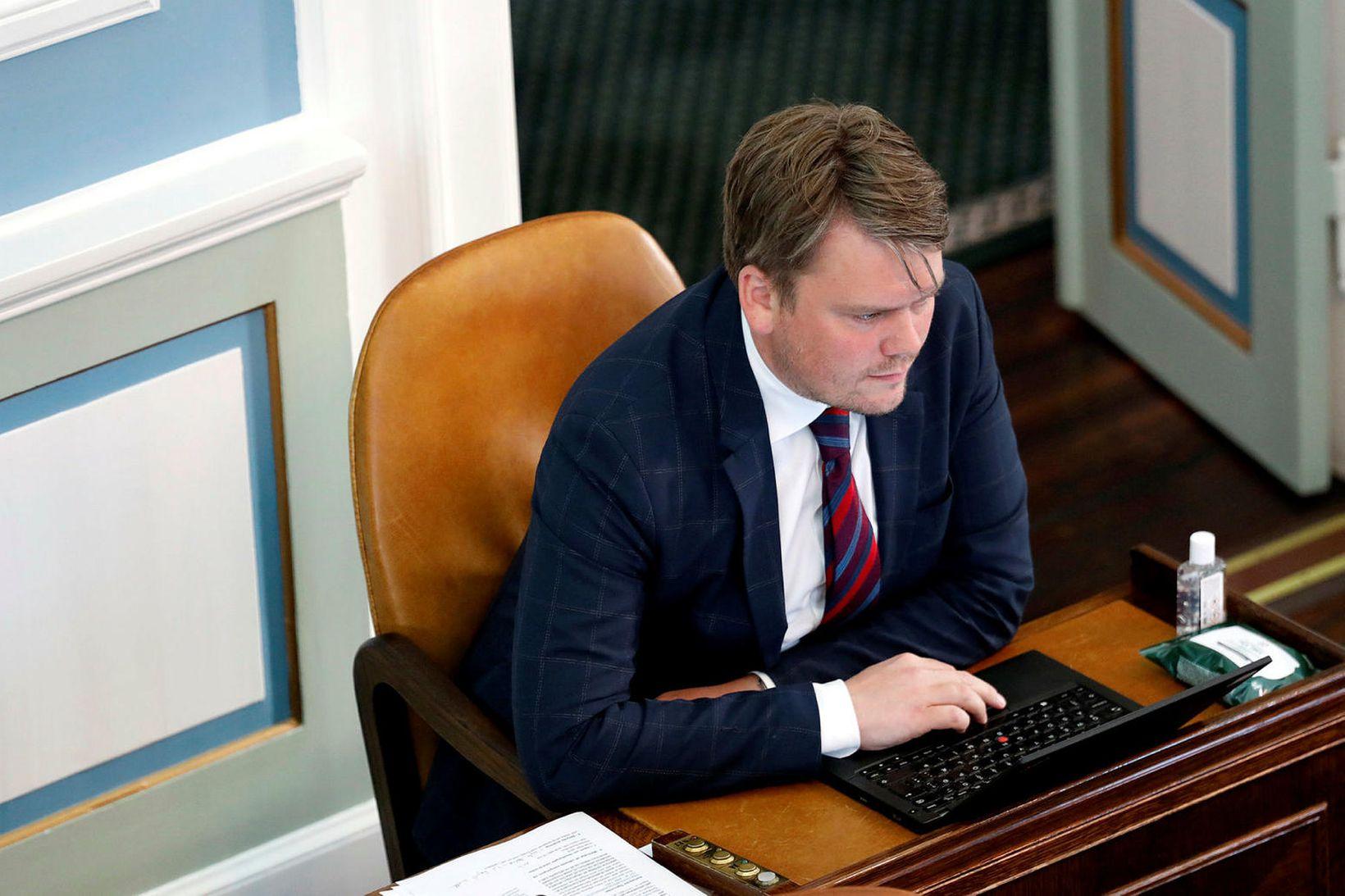 Andrés Ingi Jónsson, þingmaður Pírata.