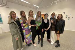 Frá vinstri: Kristín Morthens, Ragnheiður Þorgrímsdóttir, Sif Stefánsdóttir, Vera Hilmarsdóttir, Mellý-Melkorka Þorkelsdóttir, Sara Björk Hauksdóttir …