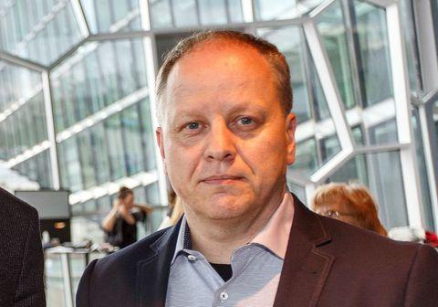 Stefán Eiríksson nýráðinn útvarpsstjóri Ríkisútvarpsins.