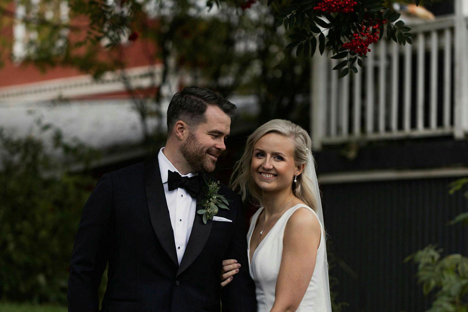 Arnar Haraldsson og Anna Lilja Sigurðardóttir giftu sig þann 26. …