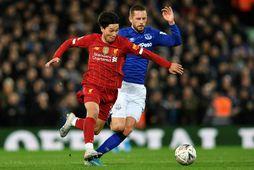 Gylfi Þór Sigurðsson verður ekki með Everton gegn Newcastle.