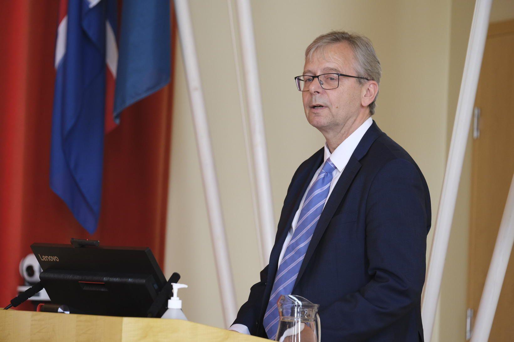 Jón Atli Benediktsson rektor Háskóla Íslands.