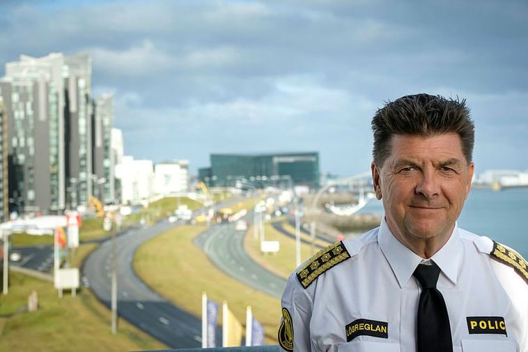 National Police Commissioner Haraldur Johannessen.
