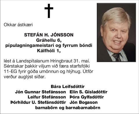 Stefán H. Jónsson