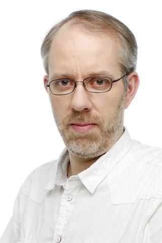 Egill Ólafsson blaðamaður.