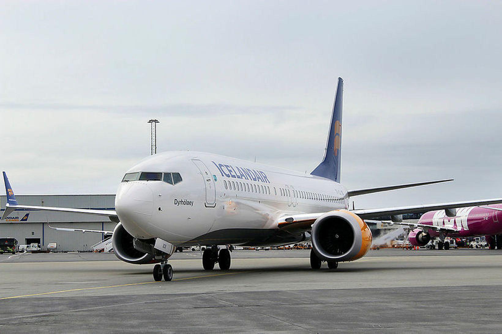 Kyrrsetning MAX-vélanna hefur leitt gríðarlegt tjón yfir Icelandair á síðustu …