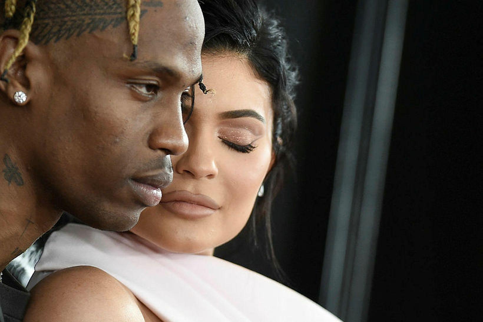 Travis Scott og Kylie Jenner eru aftur farin að vera …