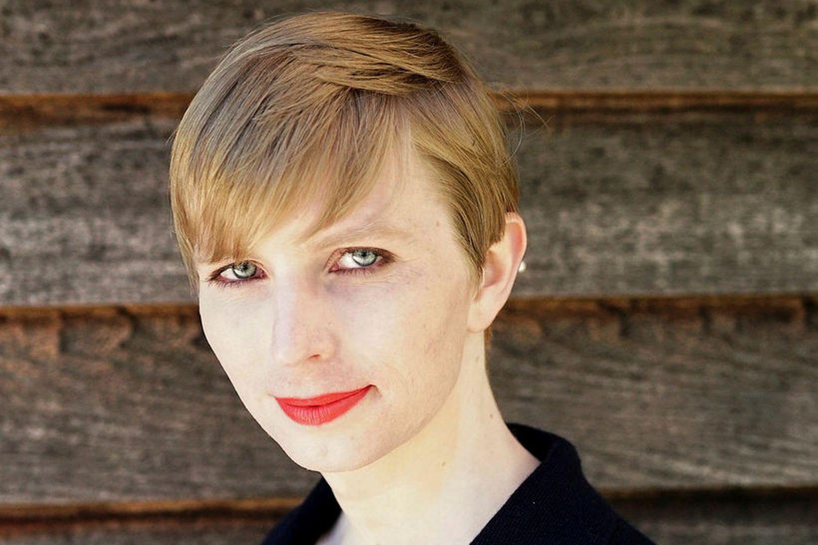 Chelsea Manning býður sig nú fram til öldungadeildar Bandaríkjaþings fyrir …