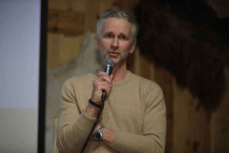 Jón Kaldal, from Icelandic Wildlife Fund, participated in a panel discussion.