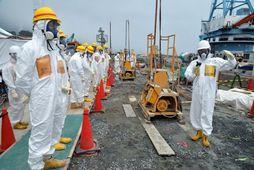 Mikil geislavirkni er enn við Fukushima kjarnorkuverið.