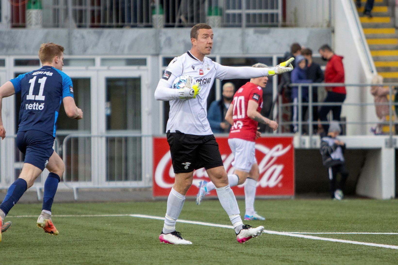 Hannes Þór Halldórsson, markvörður Vals.