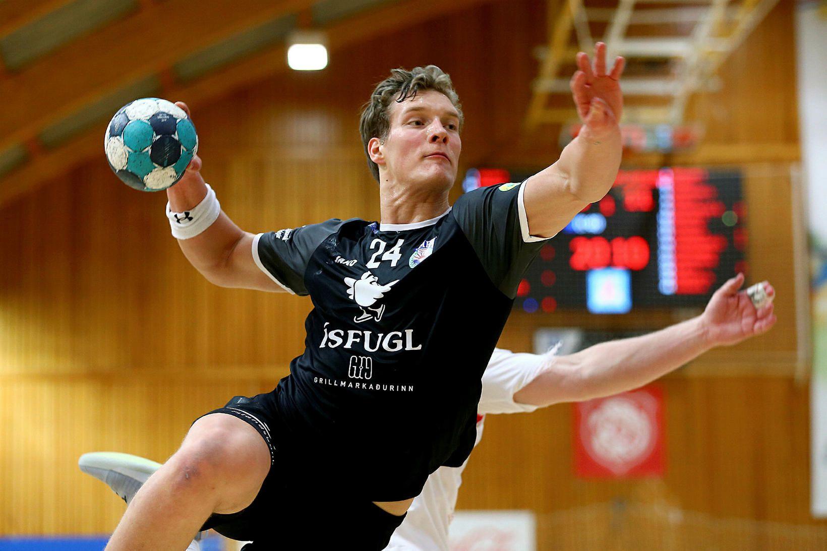 Blær Hinriksson er illviðráðanlegur um þessar mundir.